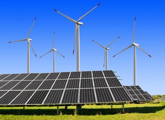 güneş ve rüzgar panelleri