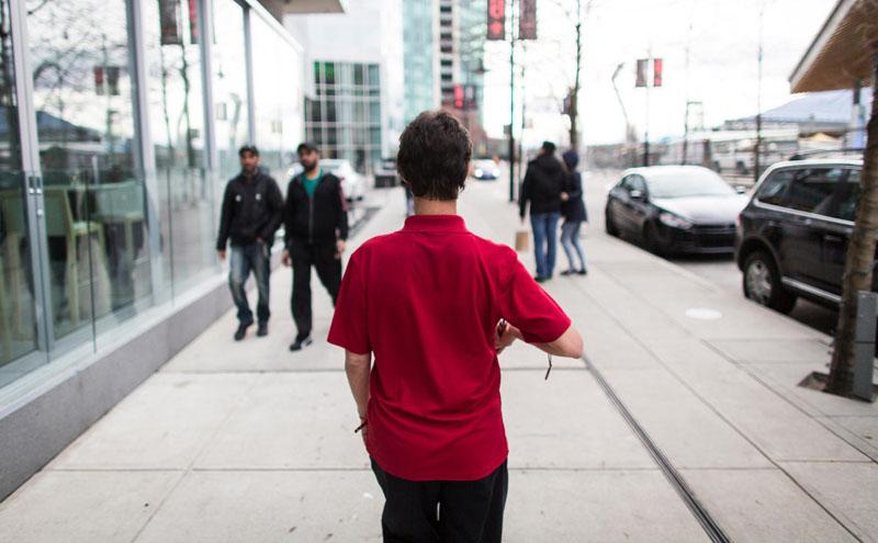 yürüyen insan